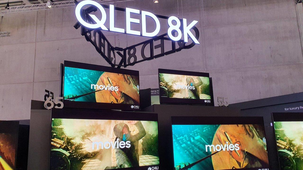 Samsung Qled 8K televize