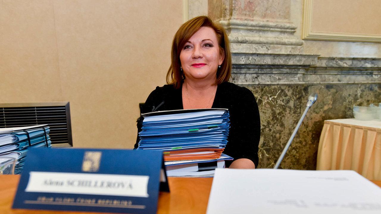 Ministryně Alena Schillerová (za ANO) připravila návrh změny daňového řádu, který poslanci proberou ve druhém čtení.
