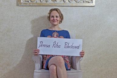 Denisa Říha Palečková.