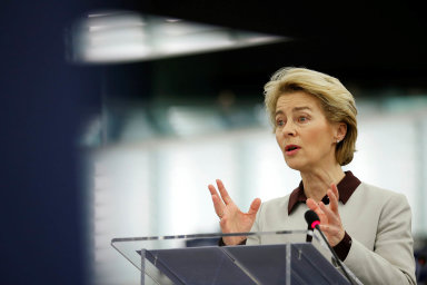 Ursula von der Leyenová, německá křesťanskodemokratická politička a předsedkyně Evropské komise