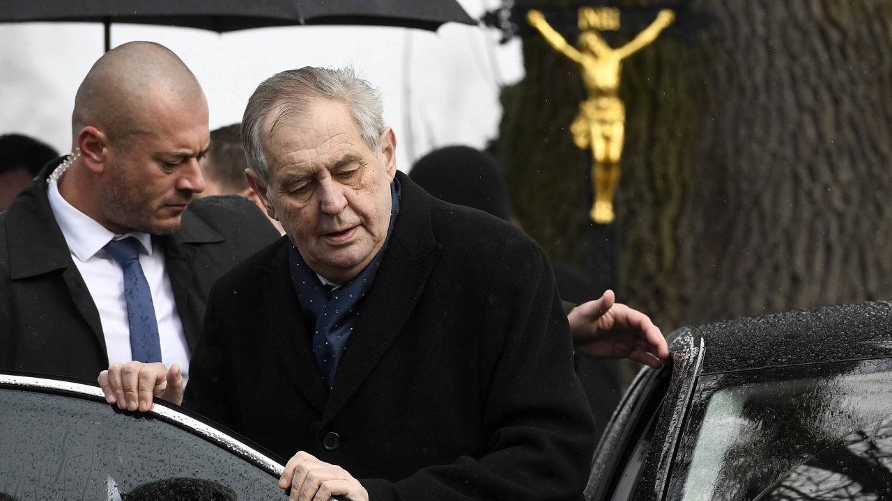 Prezident Miloš Zeman vedruhém funkčním období omezil veřejná vystoupení icesty dokrajů, během epidemie koronaviru ještě více.