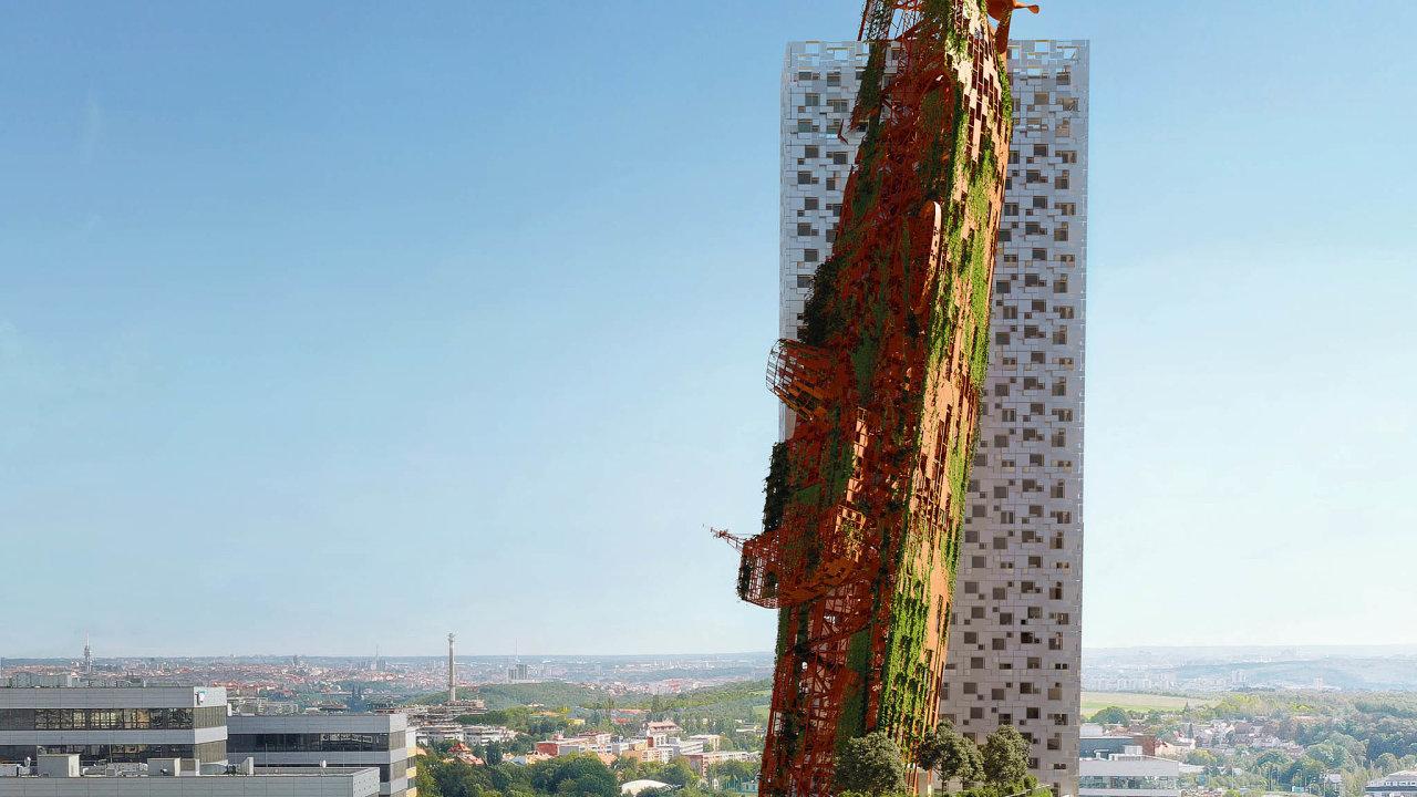 Nejvyšší dům vČesku plánuje stavět společnost Trigema vPraze. Budova nazvaná Top Tower by měla dosahovat výšky 135 metrů. Vyrůst má mimo ochranné pásmo městské památkové rezervace.