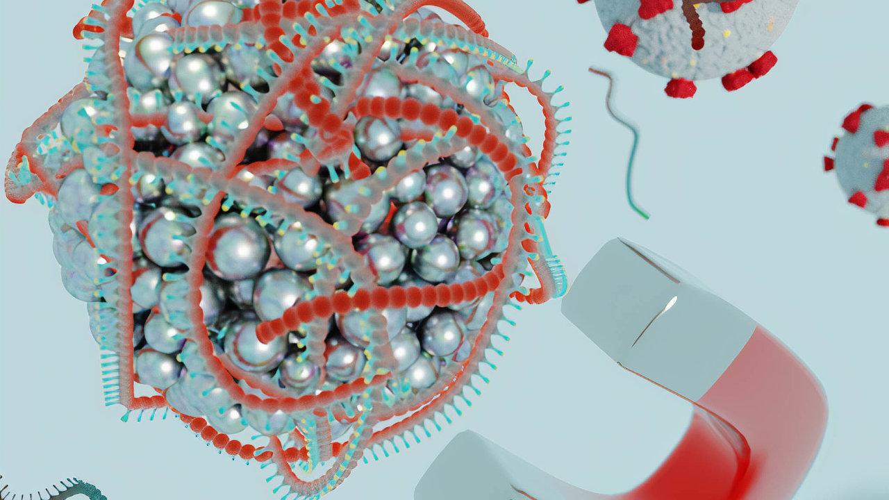Kuličky: Nanokuličky mají tisíckrát menší průměr než lidský vlas.