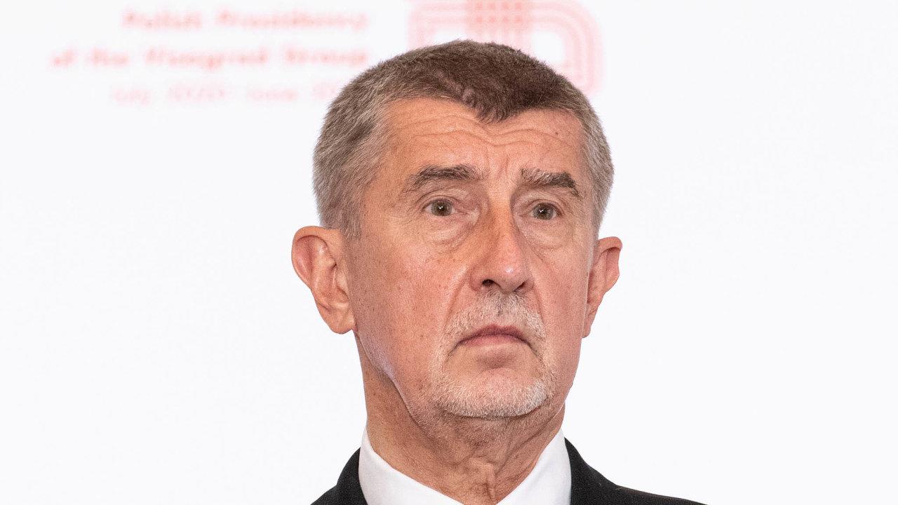 Premiér Andrej Babiš (ANO) je jediným příjemcem zisku holdingu Agrofert, který vložil dosvěřenského fondu.