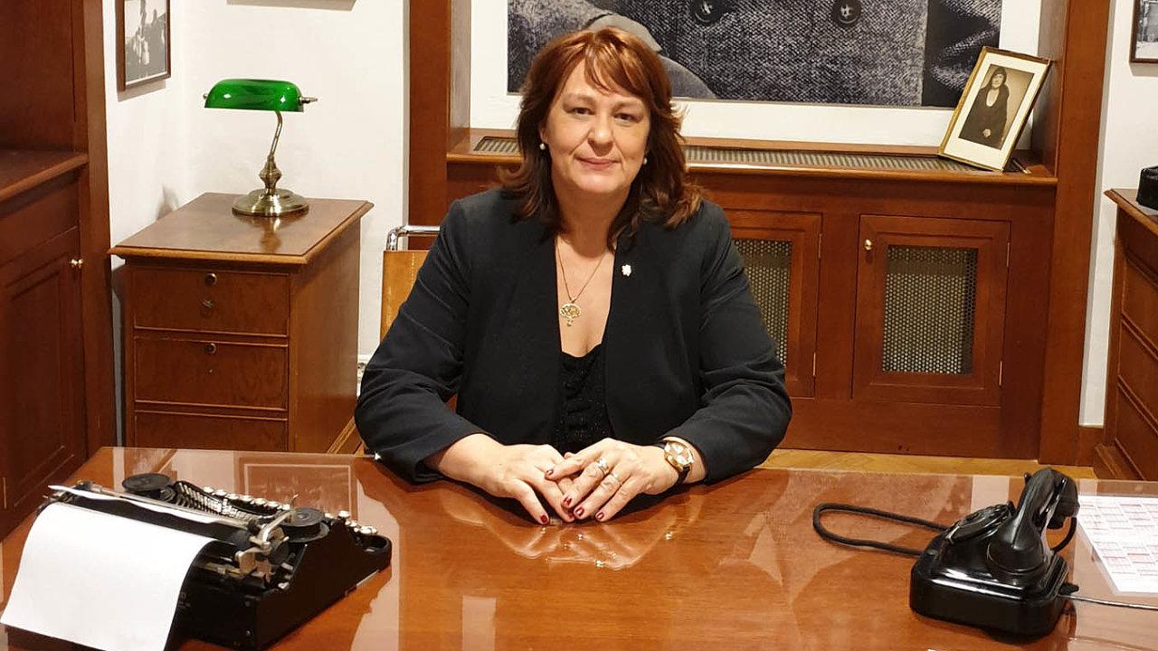 Bývalá viceprezidentka Hospodářské komory Irena Bartoňová Pálková.