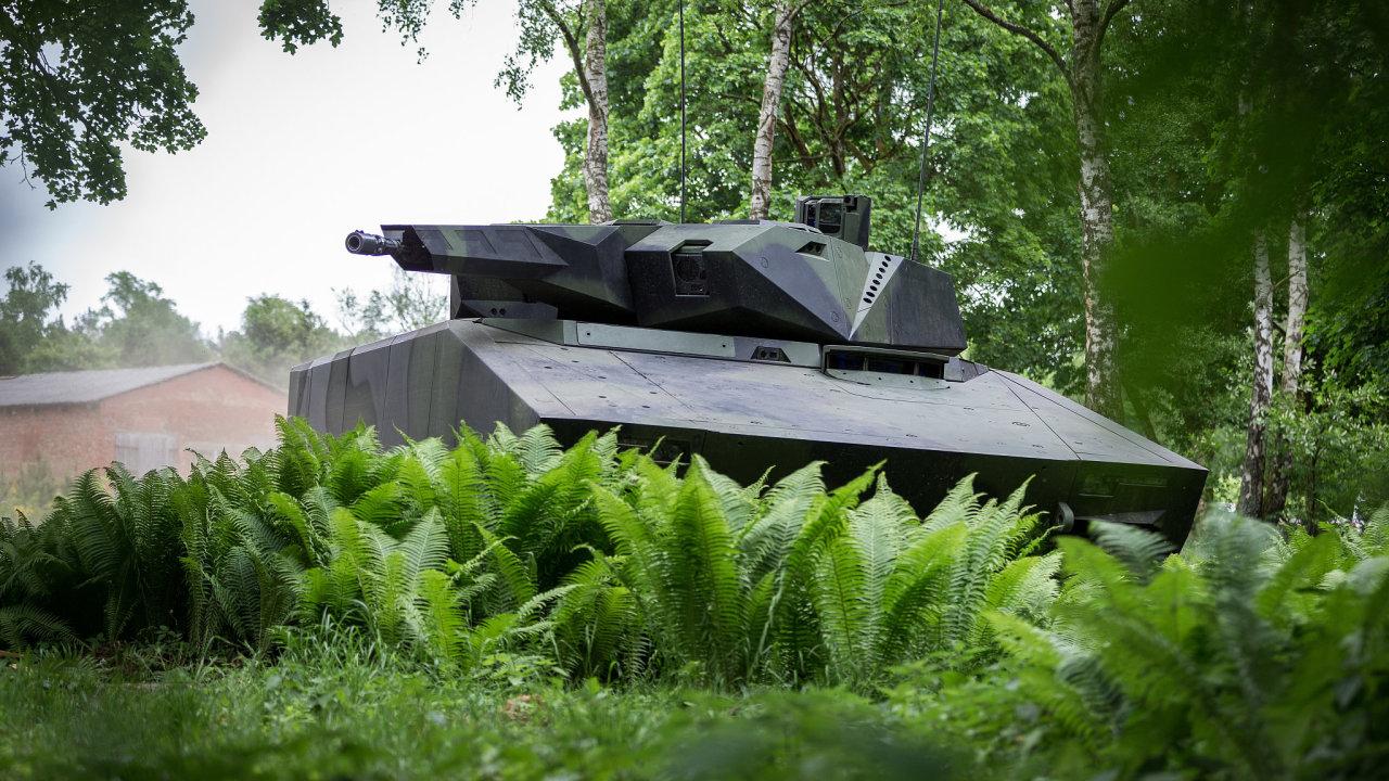 Bojové vozidlo Lynx.