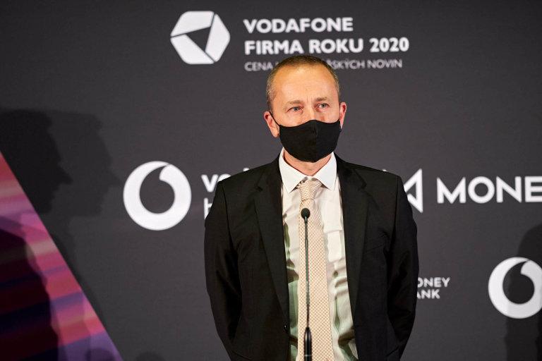 Lukáš Horn, jednatel společnosti TITAN– Multiplast, Vodafone Firma roku 2020 Libereckého kraje