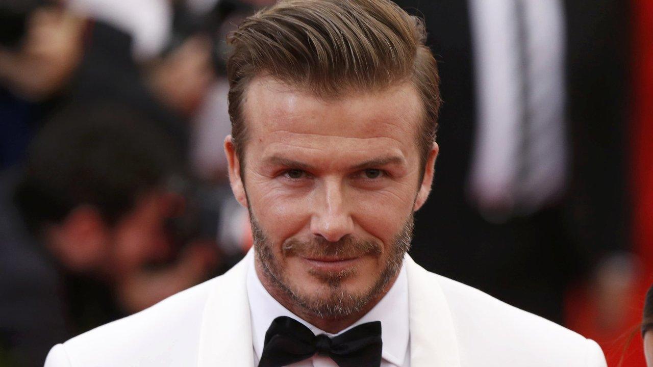 Bývalý fotbalista David Beckham je považován za módní ikonu současnosti.