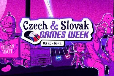 Český týden není v Lidlu: Tvůrci českých a slovenských her slaví vznik republiky slevami na Steamu