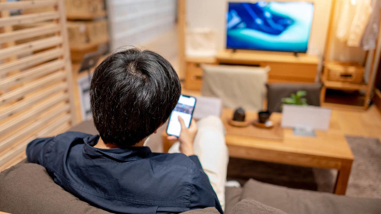 reklama TV,  i na mobilu