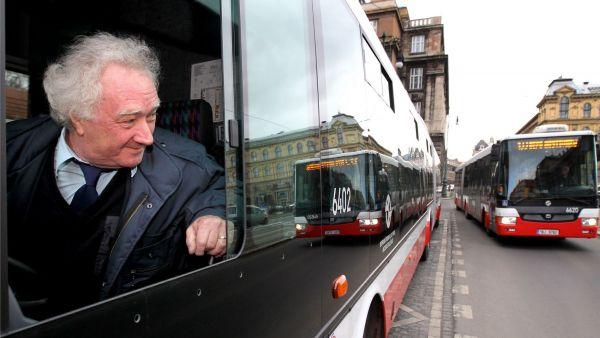 Autobus MHD, ilustra�n� foto
