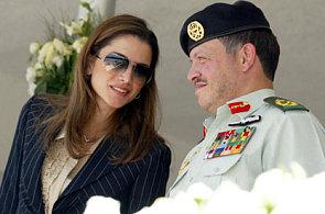 Jordans King Abdullah II and Queen Rania