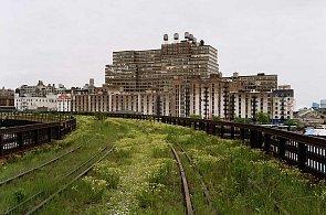 Nadzemní dráha v New Yorku se mění v park. Prohlédněte si, jak ji pohlcuje zeleň