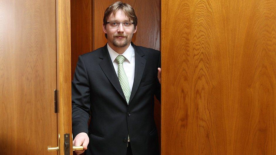 Odstupující ministr dopravy Pavel Dobeš.