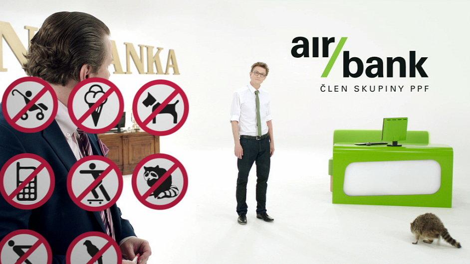 Jedna ze tří kampaní, která dostala zlatou - Air Bank