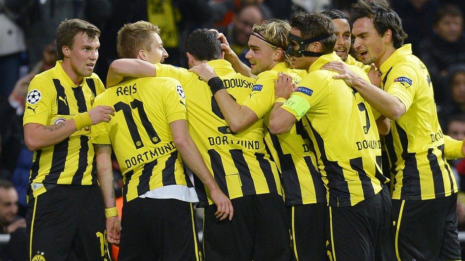 Fotbalisté Borussie Dortmund