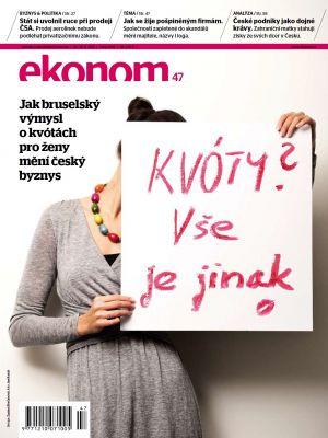 Týdeník Ekonom - č. 47/2012