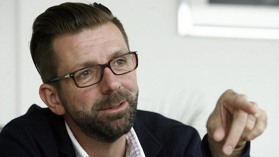 Simon Devonshire, evropský šéf projektu Wayra na podporu start-upů skupiny Telefónica