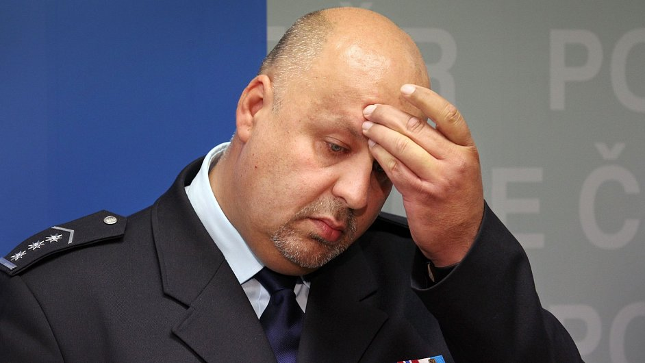 Petr Lessy ještě jako policejní prezident.