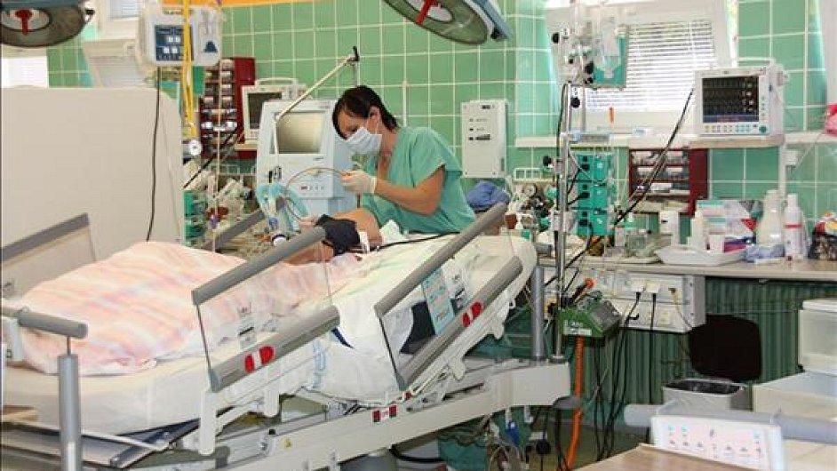 Anesteziologicko-resuscitační oddělení Nemocnice Chomutov
