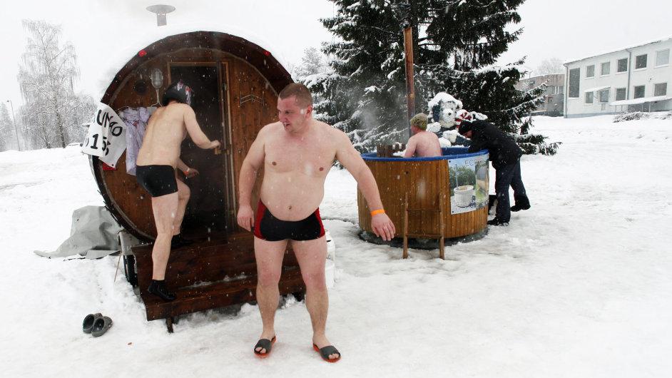 Evropský maraton saunování.