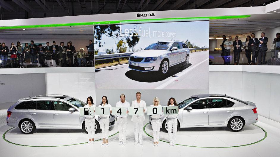 Generační výměna Octavie se vydařila a model táhne značku Škoda výš.