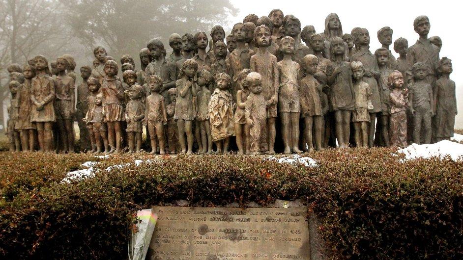 Památník v Lidicích, ilustrační foto