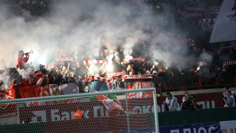 Fanoušci Spartaku Moskva