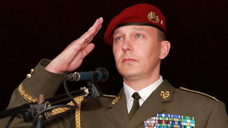 Nový šéf Vojenského zpravodajství Milan Kovanda