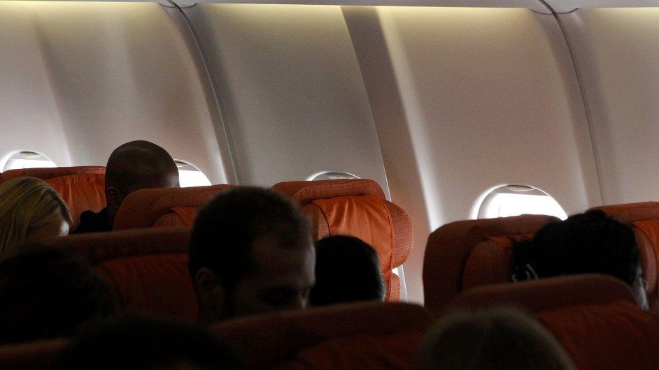 Sedadlo v letadle z Moskvy na Kubu, na kterém měl sedět Snowden