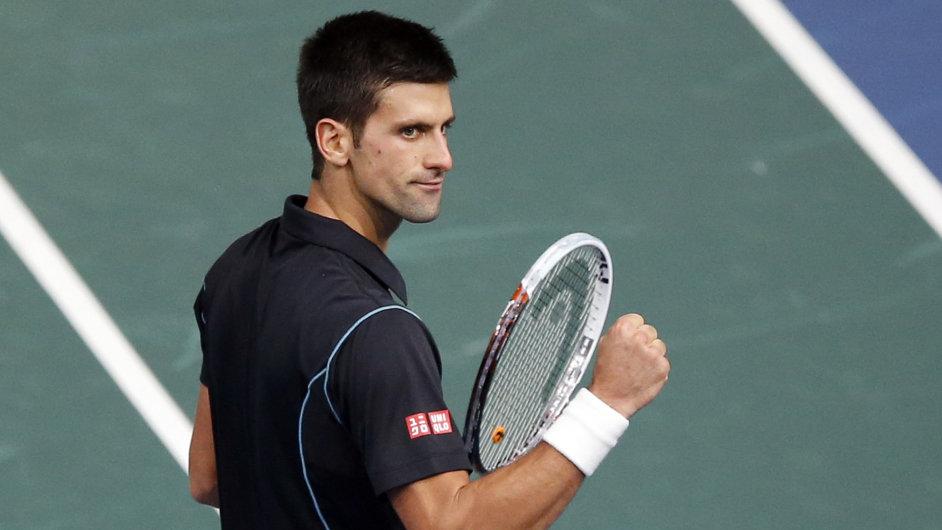Novak Djokovič na Turnaji mistrů