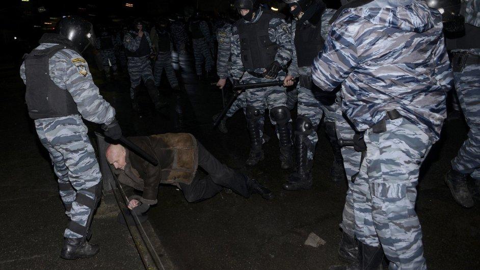 Další demonstrace v Kyjevě