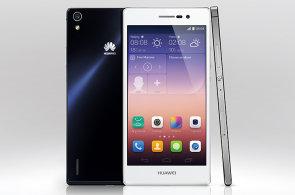 Huawei znovu nabízí alternativu k iPhonu: Ascend P7 je tenčí a větší, zvládne i LTE sítě