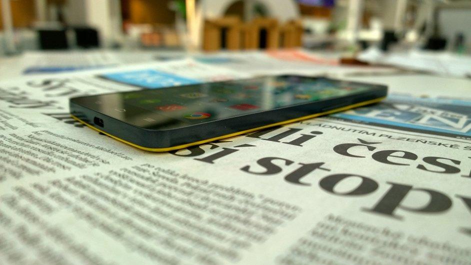 Smartphone (Ilustrační foto).