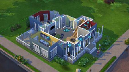 Sims 4 stavba domu