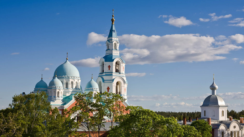Sýry z kláštera. Valaamský klášter na Ladožském jezeře patří mezi nejslavnější poutní místa. Zdejší mniši se stali sýraři.