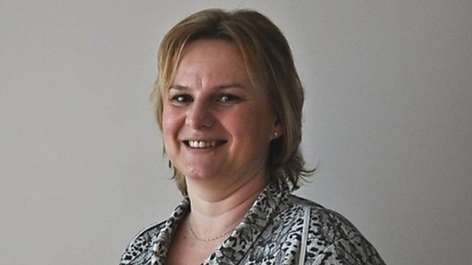 Lucie Kvapilová, ředitelka společnosti RENOMIA v Českých Budějovicích