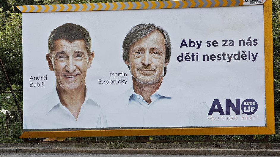 Pomohli a můžou jít: Osobnosti z předvolební kampaně ANO zkoušejí nyní jejich odpůrci z hnutí odstavit.