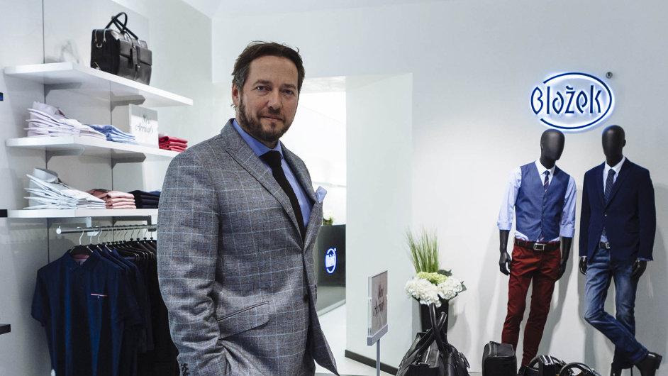 Ladislav Blažek založil svou firmu, která se zaměřuje na pánskou módu, už v roce 1992.