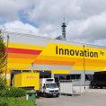 Nov� otev�en� Inova�n� centrum DHL v Troisdorfu.