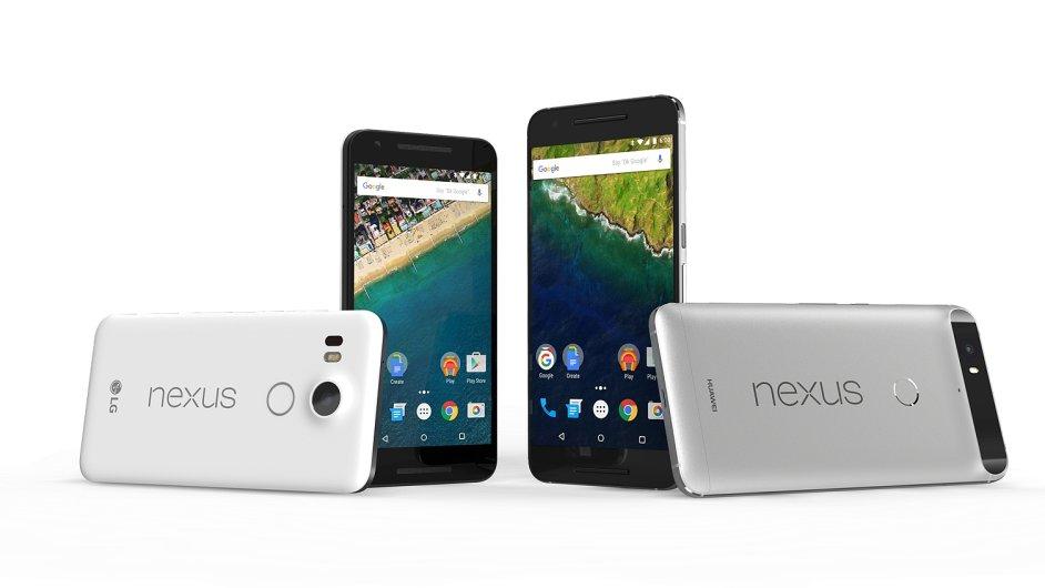 Nexus 5X a 6P