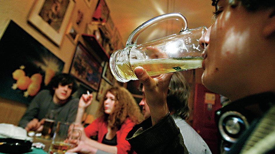 Czech Republic/Prague/07.05.2008 fotografie k clanku Martina Jazairyho o mladistvich alkoholicich