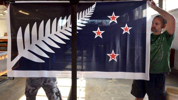 Prvn� kolo vyhr�l n�vrh zobrazuj�c� domorodou stromovou kapradinu, kterou �asto obsahuj� loga novoz�landsk�ch sportovn�ch t�m�.