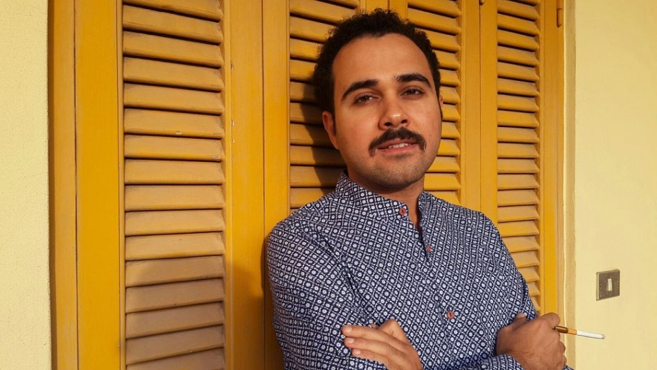 Ahmad Nádží byl letos v únoru odsouzen ke dvěma letům v žaláři.