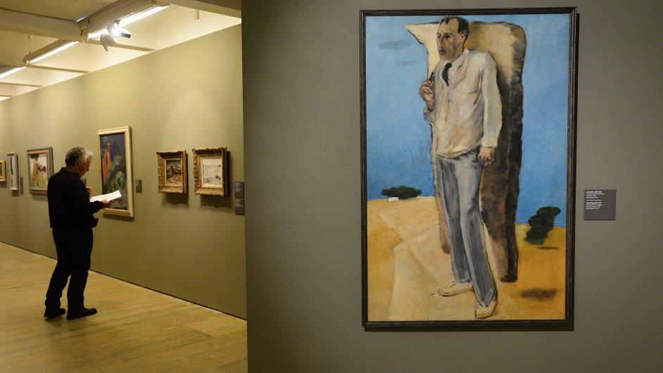 Snímek z výstavy Meziválečná moderna