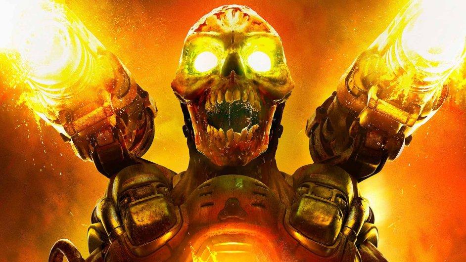 Snímek ze hry Doom (2016)
