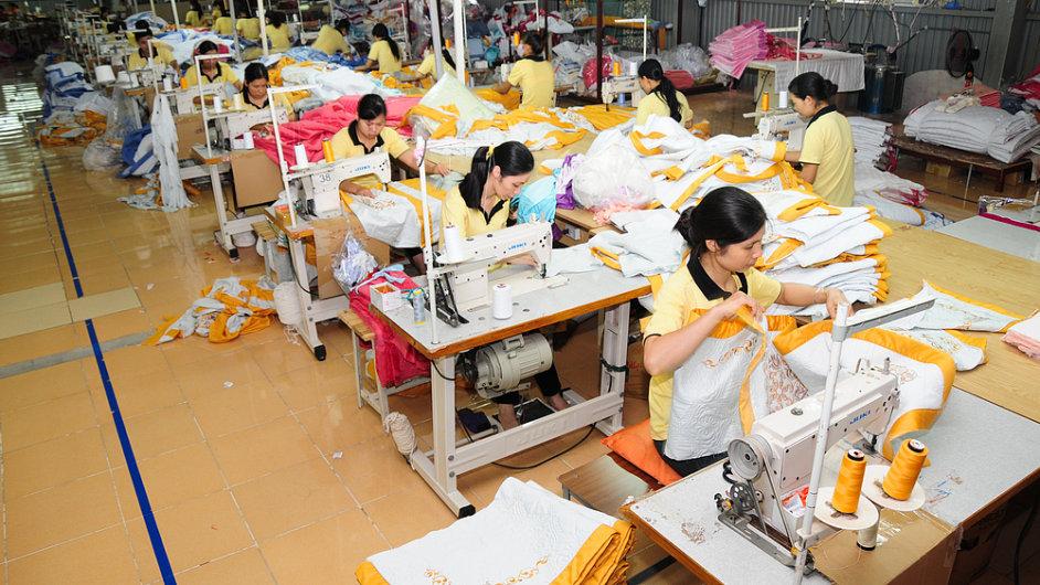 Továrna Vietnam, ilustrační foto
