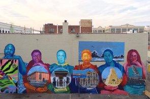Street art je typ jazyka. Kdy� pokresl�te celou ze�, mus�te v�d�t, co t�m chcete sd�lit, ��k� americk� um�lec Gaia
