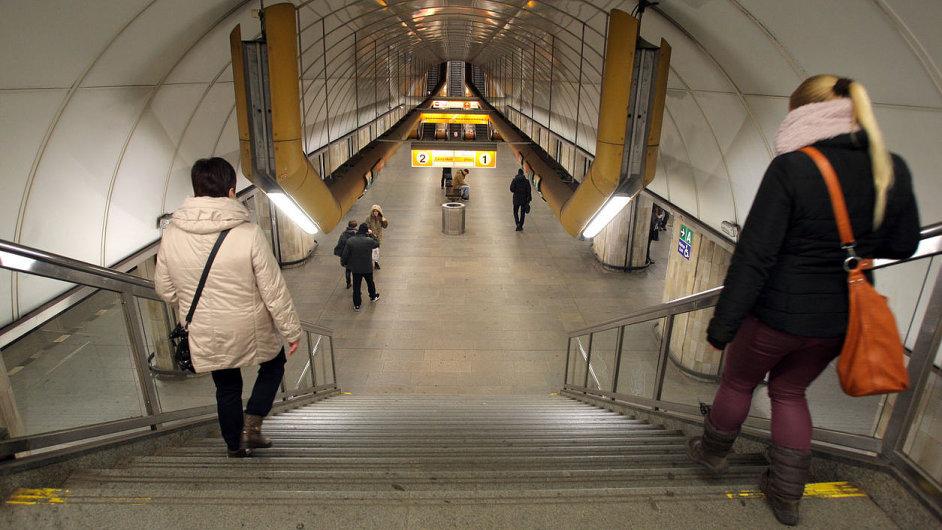 Metro, Můstek, Praha