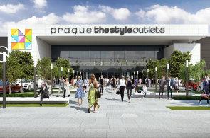 Vizualizace Prague The Style Outlets